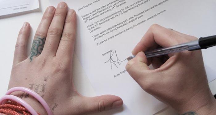 hvordan-skrive-oppsigelse
