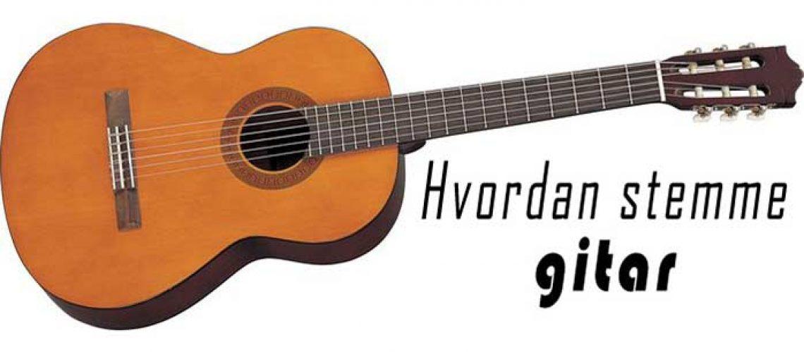 stemme gitar